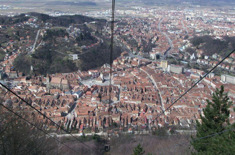 ルーマニア第二の都市ブラショフ...