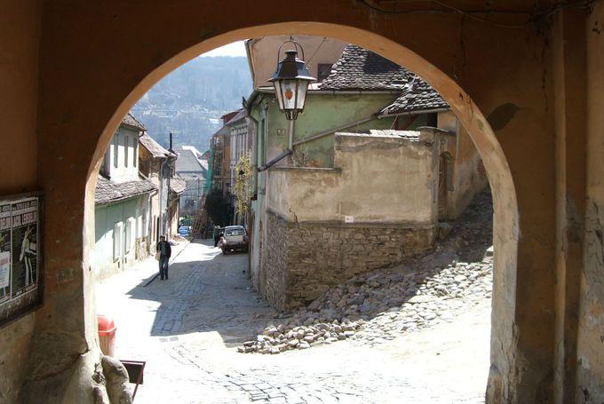 中世の面影を今に伝えるシギショアラの歴史地区