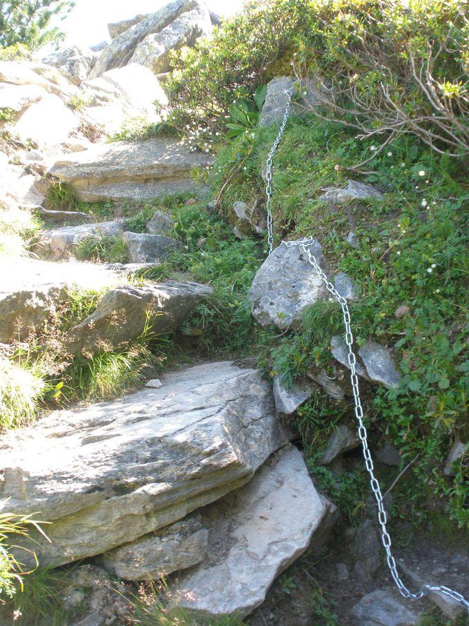 ハイキング標識はフランス式からスイス式のものへ
