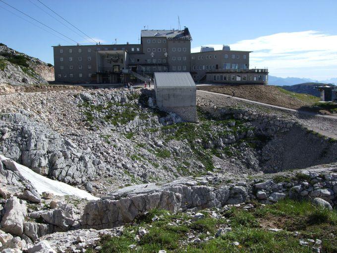 クリッペンシュタイン展望台からの眺望