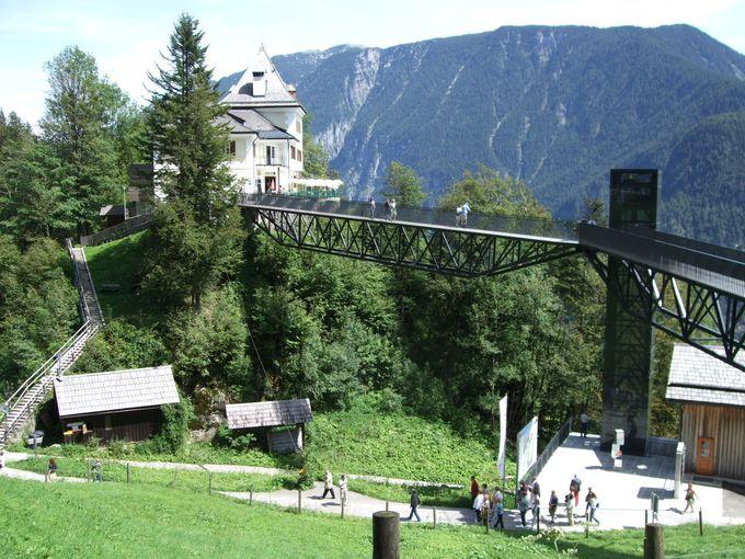 素晴らしい眺望の展望橋