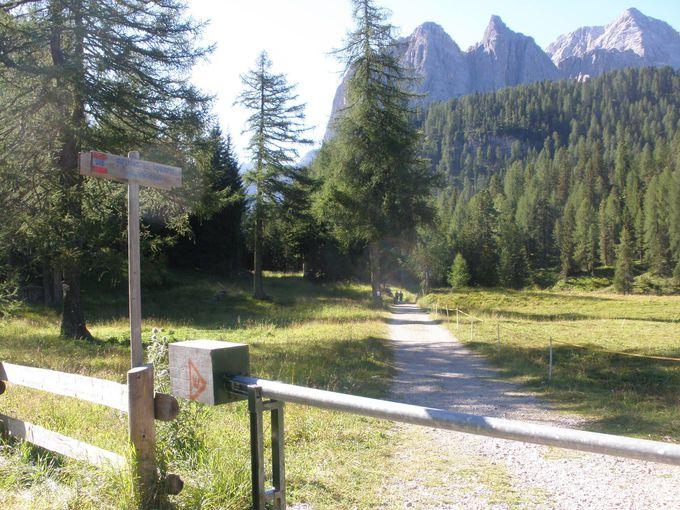 ハイキングでアクセスしよう