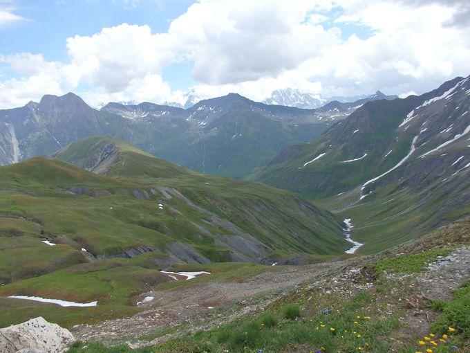 フェレ峠からの眺め
