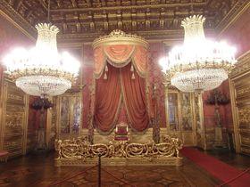 眩いばかり!北伊・トリノ王宮はかつてのサヴォイア家の宮殿