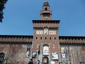 見逃せない伊・ミラノの古城「スフォルツァ城」と寛ぎ公園センピオーネ