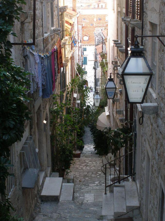 統一感のある美しい旧市街