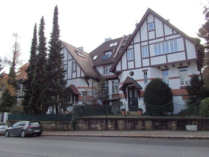物静かな高級住宅街のハイリゲンシュタット
