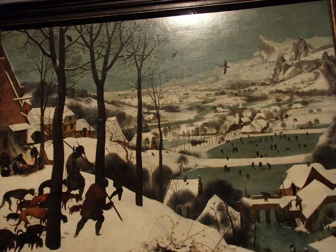 大人気のブリューゲル展示室