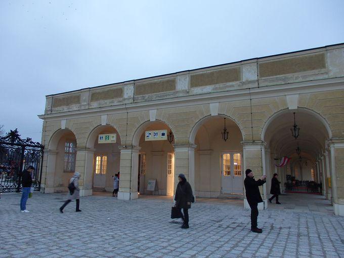 世界遺産のシェーンブルン宮殿