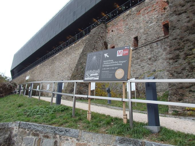 ドナウ河畔に佇むリンツ城博物館へ