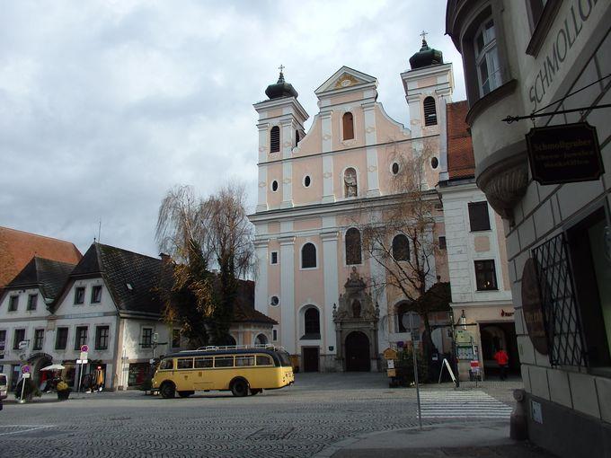 建ち並ぶ歴史的な建物
