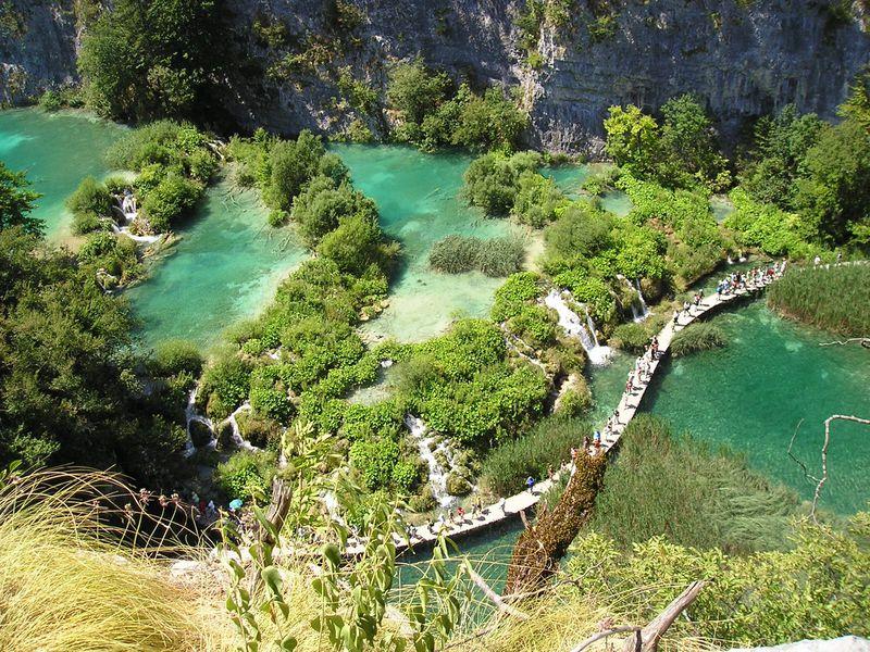 危機遺産から復活!クロアチアの「プリトヴィツェ湖群国立公園」