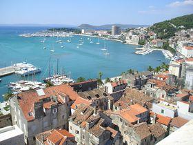 アドリア海沿岸最大の港町「スプリット」はクロアチア世界遺産の町