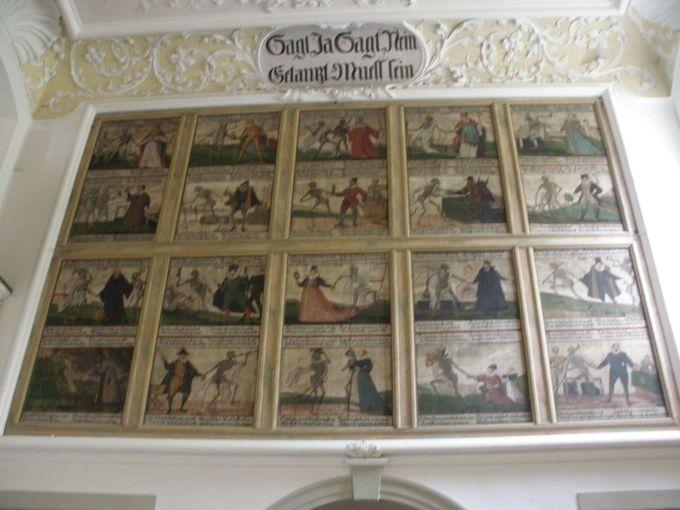 だまし絵や壁画が見逃せないフュッセン市博物館