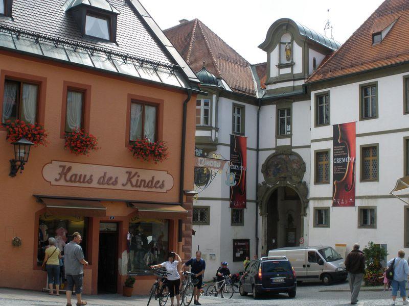 独・ロマンティック街道終点地の博物館「フュッセン市博物館」