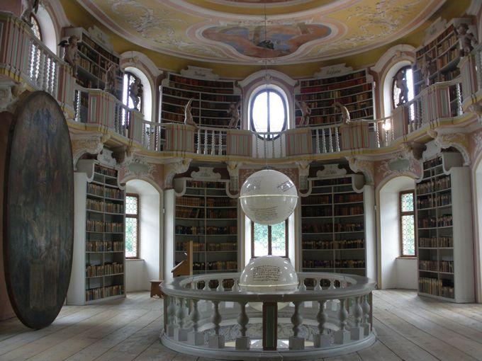 優雅な図書室
