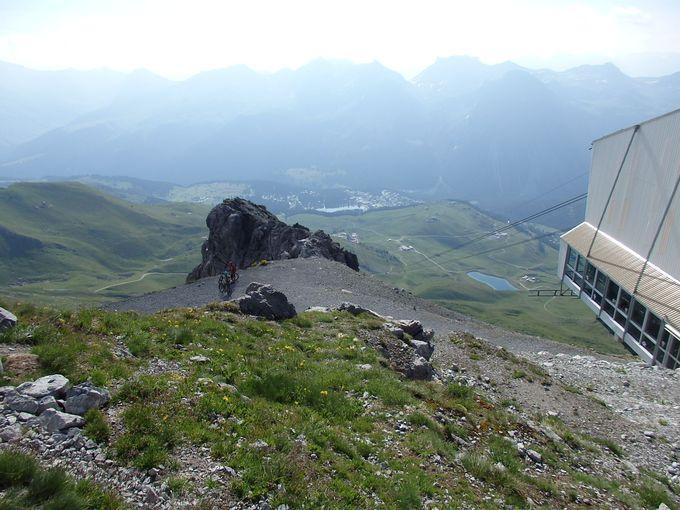 ヴァイスホルンから見事な360度のパノラマを!