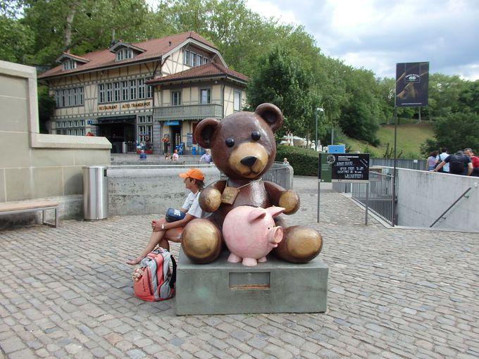 ベルンのシンボル熊さんのいる熊公園