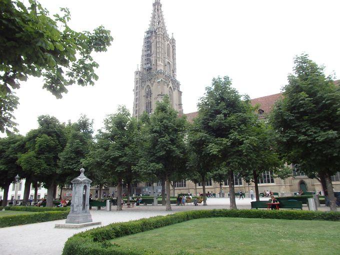 スイスで一番高い大聖堂