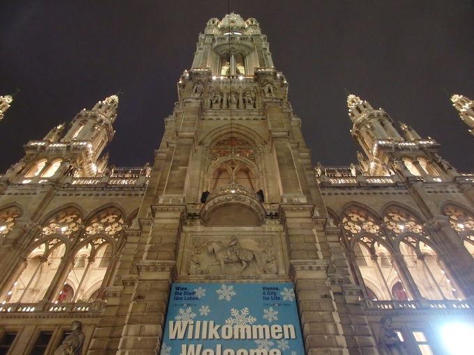 首都ウィーンの顔「市庁舎」