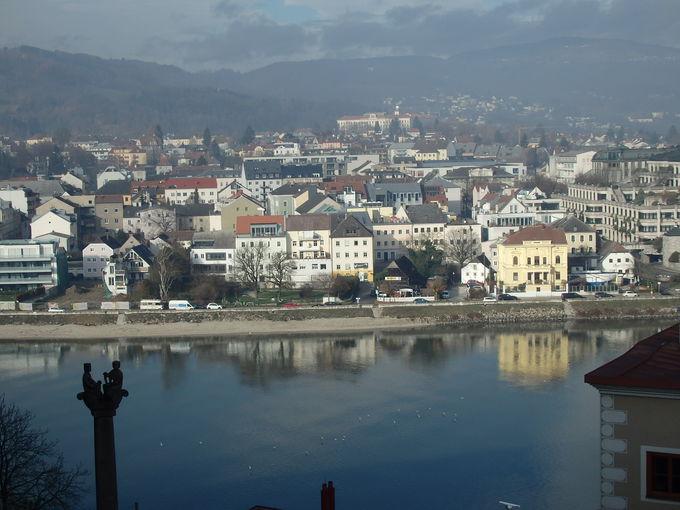 オーストリア第3の都市リンツ