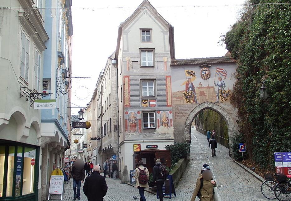 中世の町並みが残るシュタイヤー