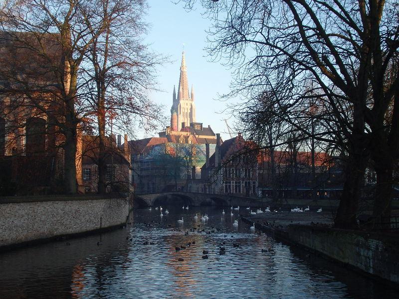 天井のない美術館?ベルギー水の都「ブルージュ」中心地の観光まとめ