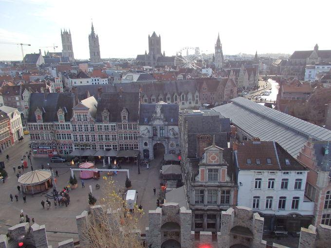 ベルギー第3の都市「ゲント」