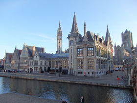 由緒あるベルギーの古都「ゲント」で見ておきたい観光名所