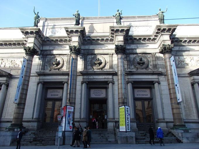 王立美術館内の古典美術館