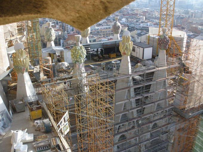 塔の上からの眺めは最高!