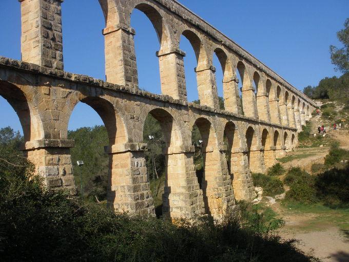 悪魔の橋「ラス・ファレラス水道橋」