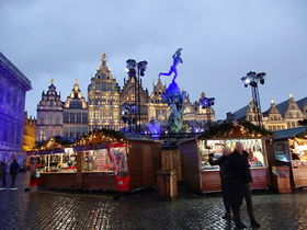 『フランダースの犬』の舞台「アントワープ」で楽しむクリスマスマーケット