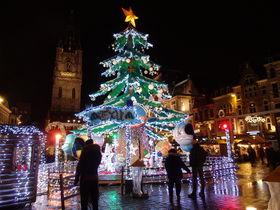 ギルドハウス群にも勝るベルギー「ゲント」のクリスマスマーケット