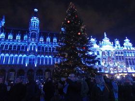 感動呼ぶイルミネーション!首都ブリュッセルのクリスマス風景
