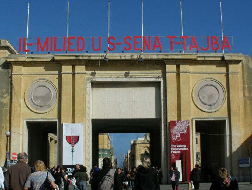 絶景に囲まれたマルタ共和国の首都「ヴァレッタ」