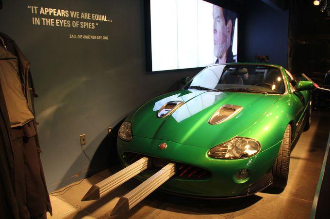 ファン必見!映画「007」で実際に使われた車が展示