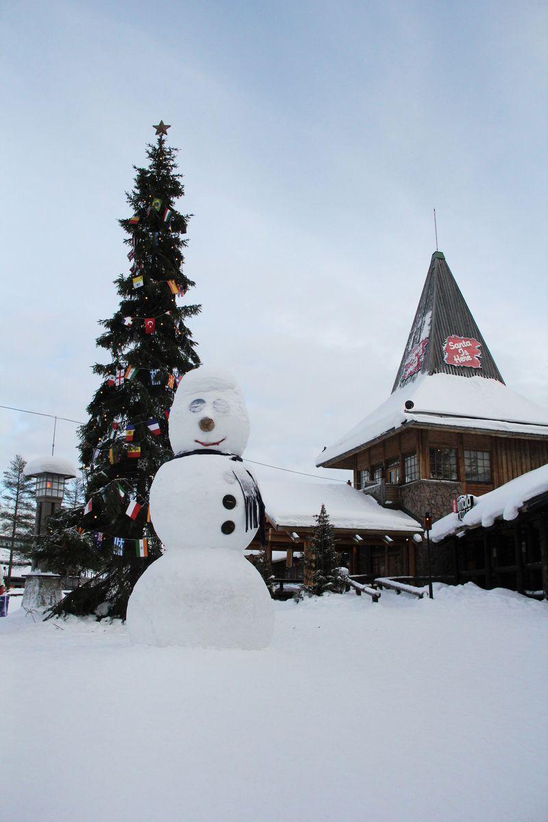 フィンランド・ロバニエミの「サンタクロース村」で本物のサンタクロースに大感動!