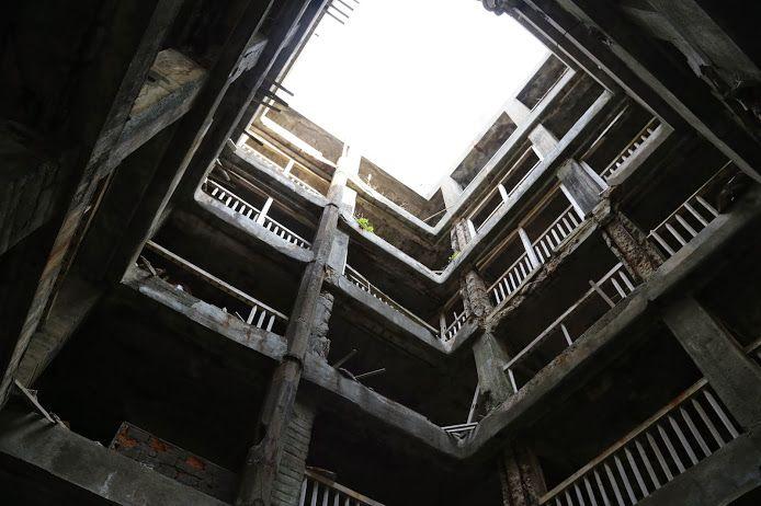 日本最古の鉄筋コンクリート建築!(30号棟)