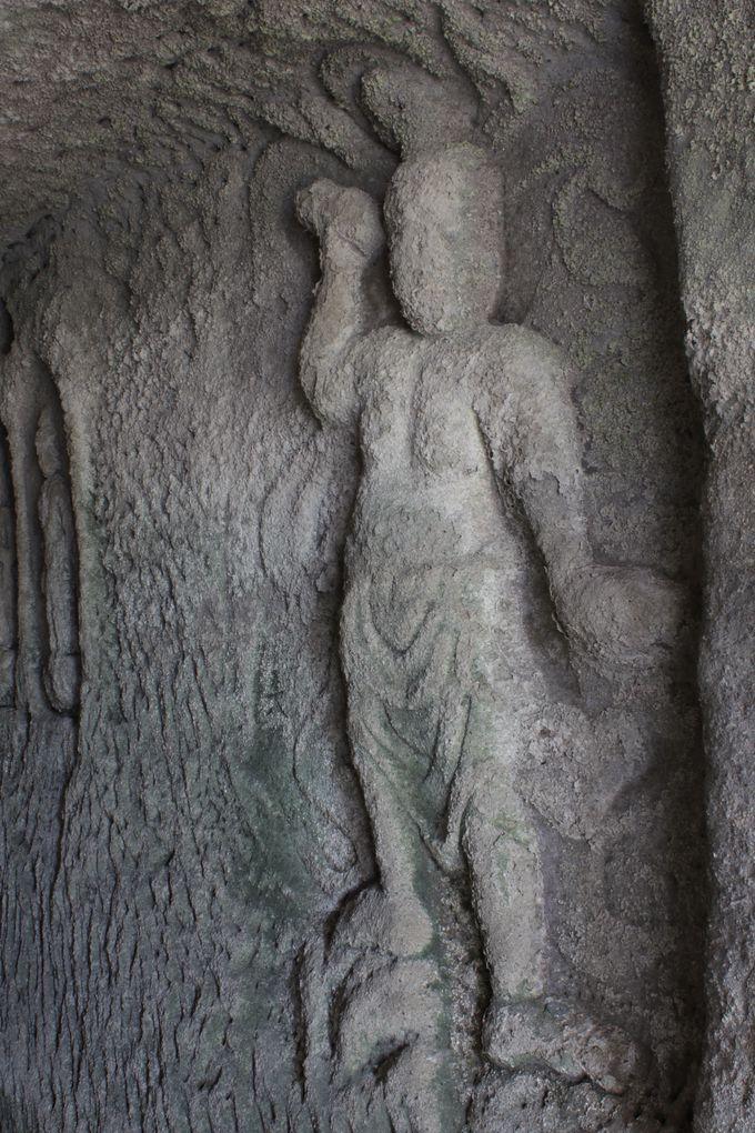 岩谷堂の守護神