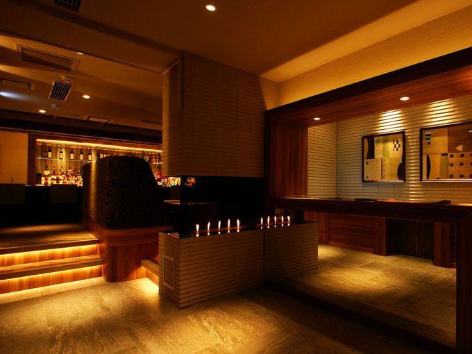 ホテル と バー ?