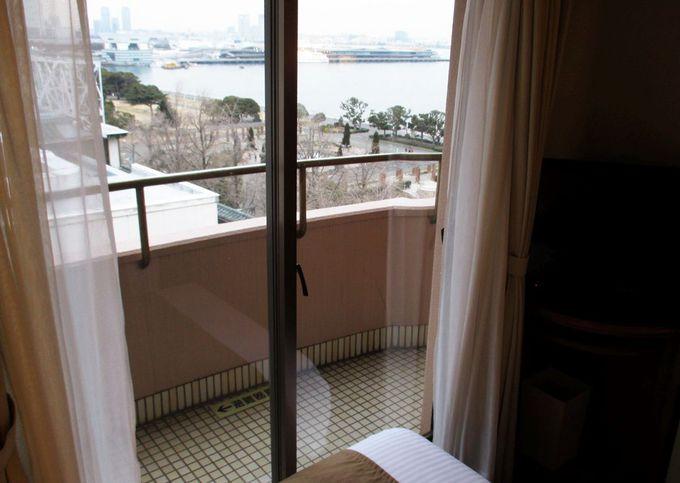 海風を感じる客室テラス