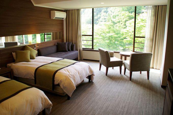 快適なリニューアル客室はシティホテルの雰囲気