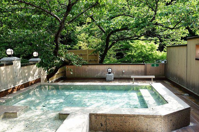 泉質の良さが体感できる温泉