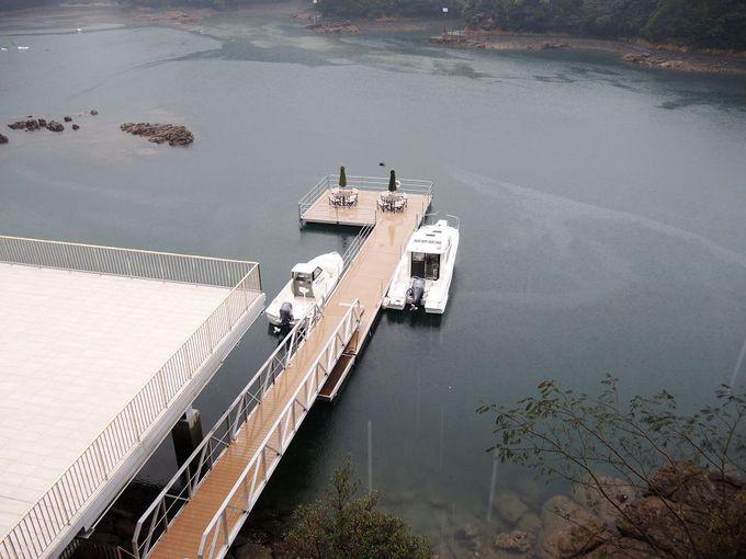大島大橋を渡って