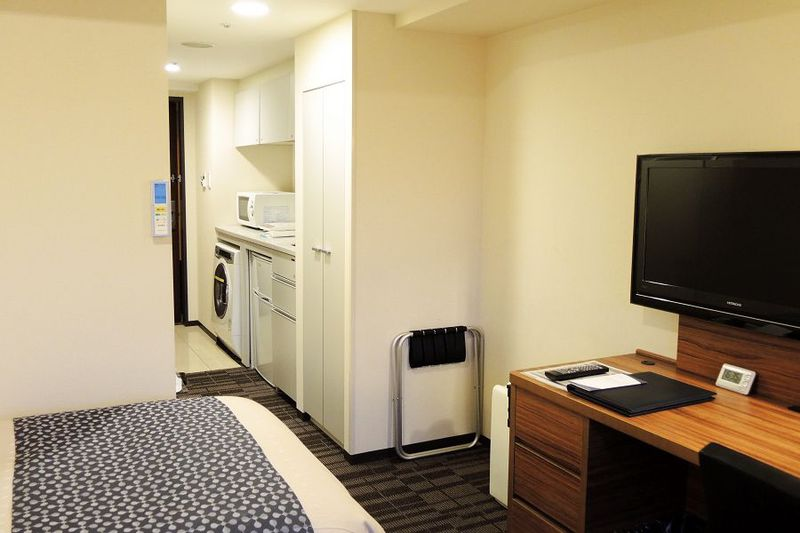 泊まるホテルから住まうホテルへ「東急ステイ西新宿」