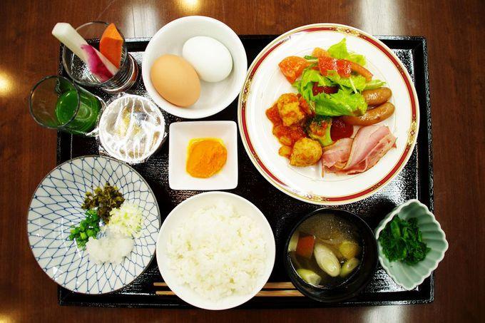 驚きの朝食クォリティ