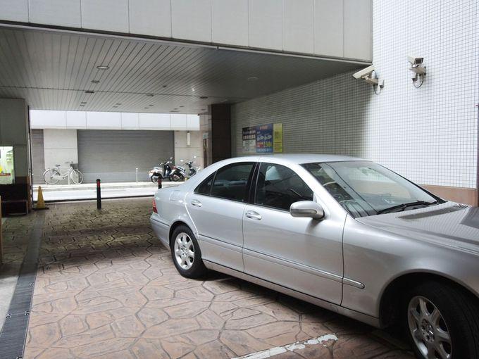 大型の立体駐車場が嬉しい