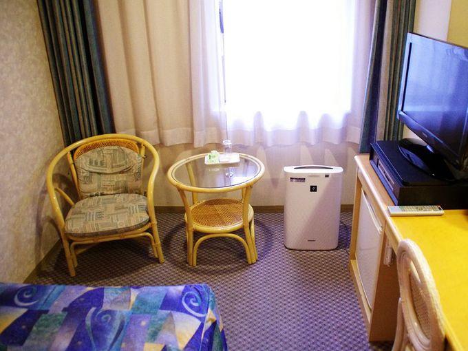 リゾート感ある客室