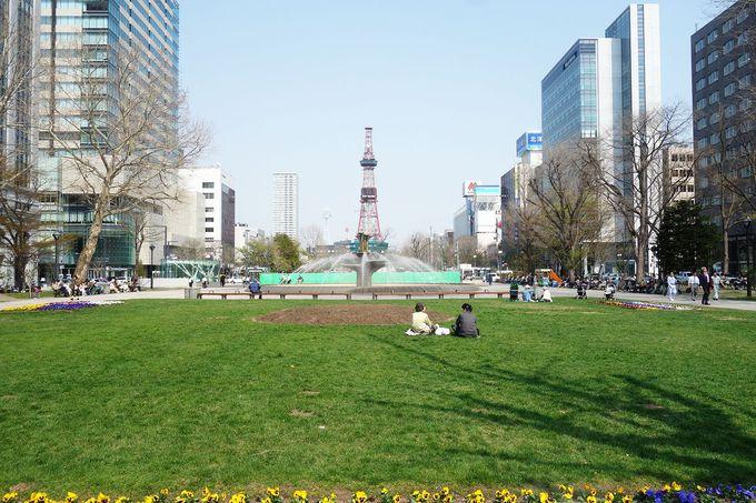 札幌市街地から東側立地のホテル